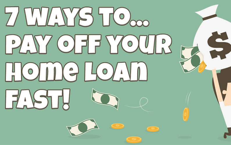 how to pay off home loan in 7 years